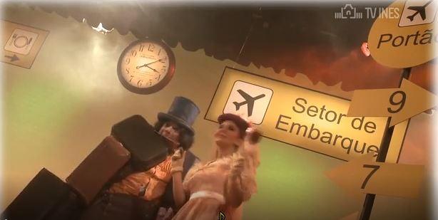 No Aeroporto - Comedia da Vida Surda